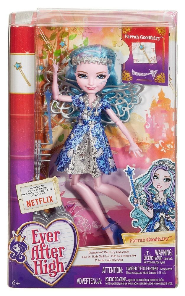 Ever After High Dolls Farrah Goodfairy Daughter Of The
